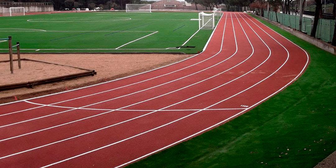 Pista atletismo y campo de futbol