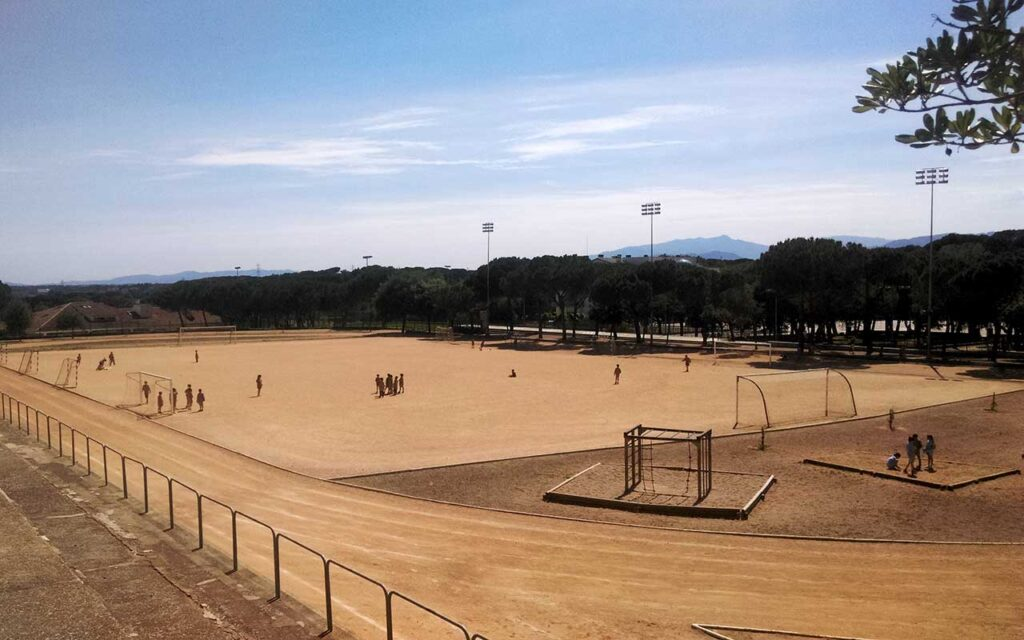 Fútbol instalación inicial
